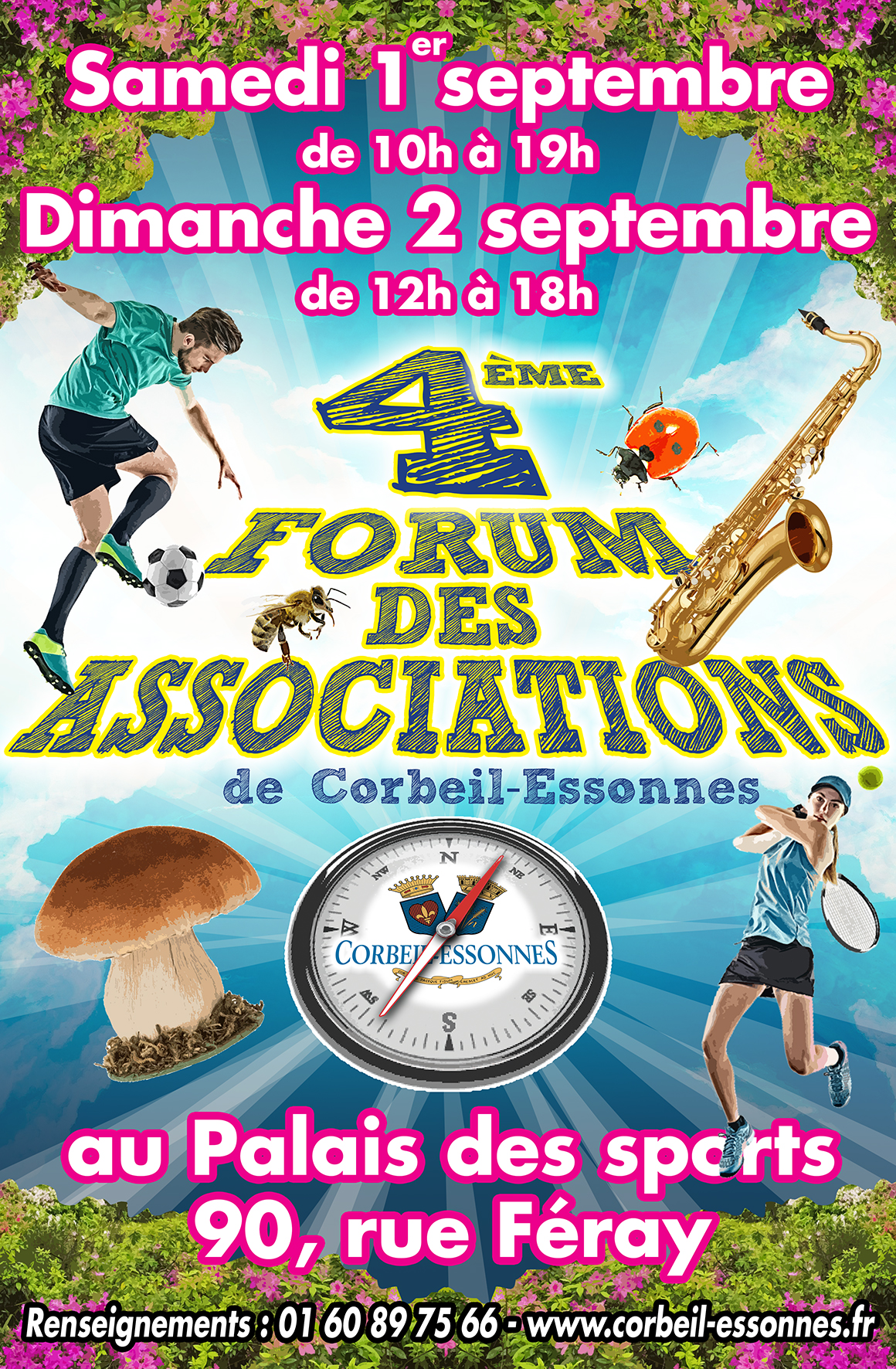 Forum des associations corbeil 2018